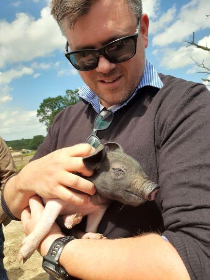 Aubrey Allen Free Range Blythburgh Pork Trip